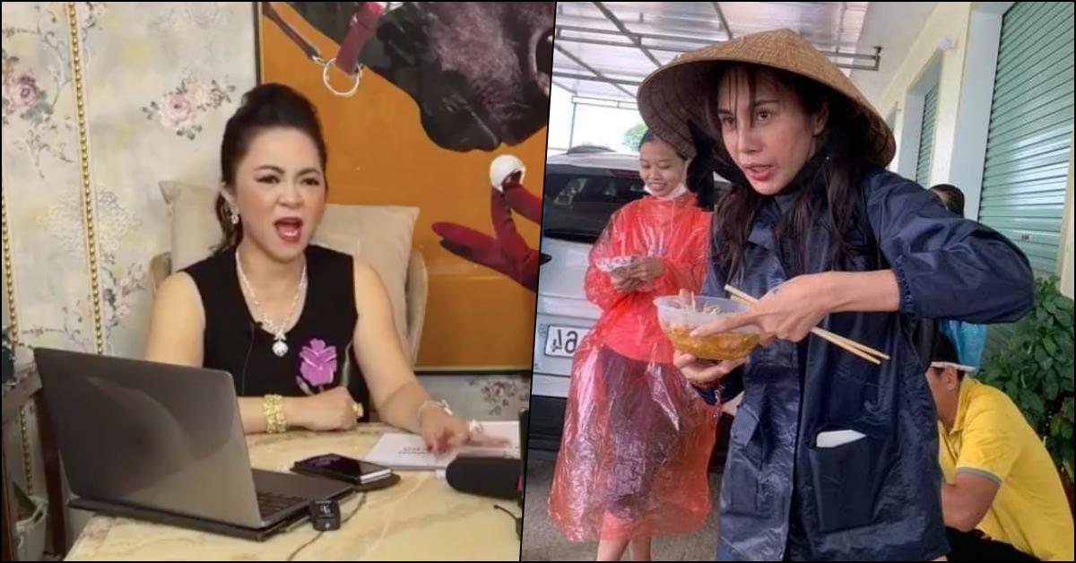 Vừa doạ xử Trang Trần, bà Phương Hằng tiếp tục gọi tên Thuỷ Tiên vụ làm từ thiện: 'Nó sai thì pháp luật trị nó'